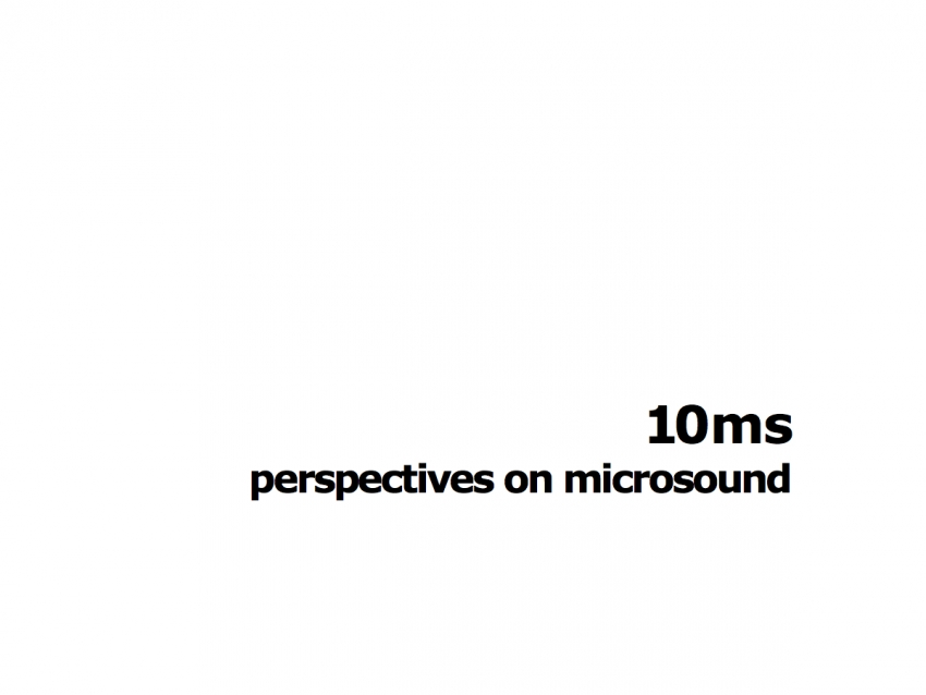 10ms diapason gallery soundart microsound